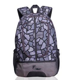 Dropsy 3D P Grey casual backpack