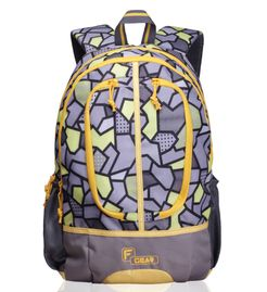 Dropsy 3D P Yellow casual backpack