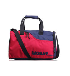 F Gear Jazz Blue Red 27 Liter Small Travel Duffle bag (Blue Red)