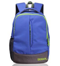 Ferrari Blue Green casual backpack