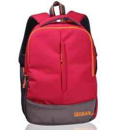 Ferrari Red Orange casual backpack