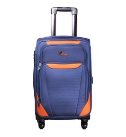 Bavaria Blue Orange  Cabin Luggage - 20 inch