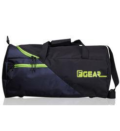 F Gear Explory 54 Liter Travel Duffle Bag (Black Green)