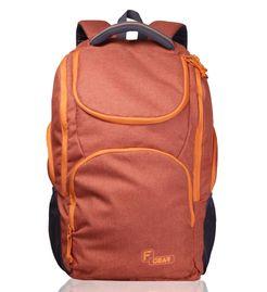X Lander Orange Backpack