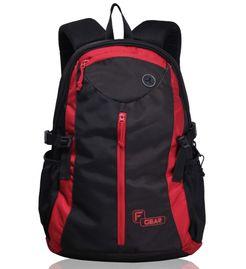 Slog V2 Black Red   (17 inch)  Laptop backpack