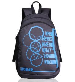 F Gear Diamond Octa 25 Liter Backpack (Grey Blue)