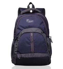 F Gear Intense 27 Liters Laptop Backpack(Black Blue)