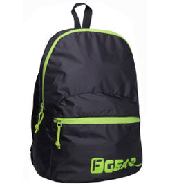 Ferris SMALL 10L 1-DAY BACKPACK (BLACK/GREEN)