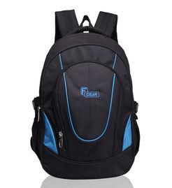 F Gear Brainwave 30 Liters Backpack(Black Blue)