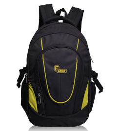 F Gear Brainwave 30 Liters Backpack(Black Yellow)