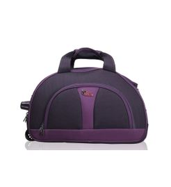 Cooter Black Purple Large size Travel Duffle Bag-24 inch