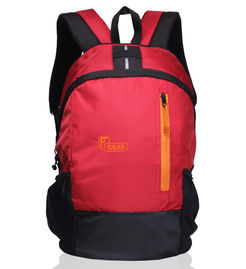 Rocco Red Black  21LCasual  Backpack