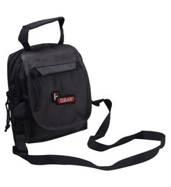 F Gear Compact Polyester 2.5 Liter Grey Sling Bag