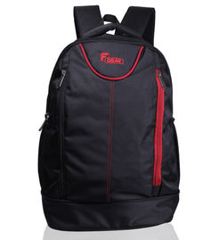 Booster Lite 29 L Laptop Backpack( Black Red)