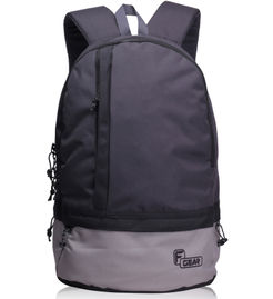 F Gear Burner 20 Liters Small Casual Backpack( Grey Black )