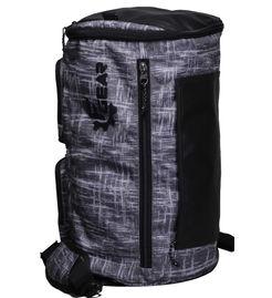 F Gear Xtreme 37 Liters Duffle cum Backpack (Black, Grey)
