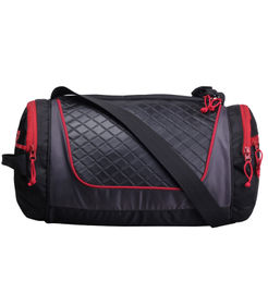 F Gear Astir bag 18 liter Small Gym Duffle Bag (Black Red)