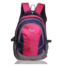 F Gear Code V2 28 Ltrs Purple Pink Backpack