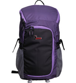 F Gear Savory 40 Liter Backpack with Rain Cover (Violet Black)