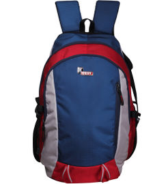 F Gear Plush 24 Liter Backpack(Red White Blue)