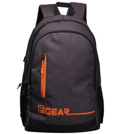 F Gear Bi Frost Denim Coffee Orange 28 Liter Laptop Backpack