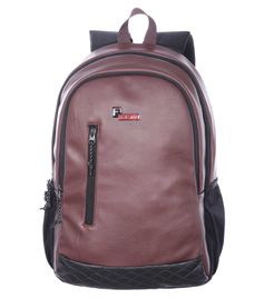 F Gear Bi Frost Executive 28 Liter Laptop Backpack (Brown)