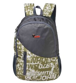 F Gear Cipher 27 Liter Green, Grey Laptop Backpack