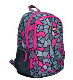 F Gear Castle V2 Printed Pink 27 Liters Backpack Sch Bag