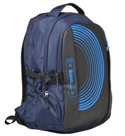 F Gear Alchemist Laptop Backpack With Rain Cover  30 Liters (Grey,Blue) Sch Bag