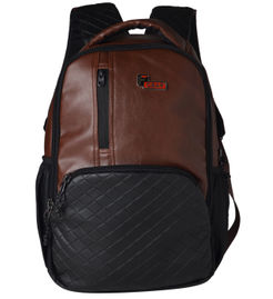 F Gear CEO Brown 25 liter Laptop Backpack