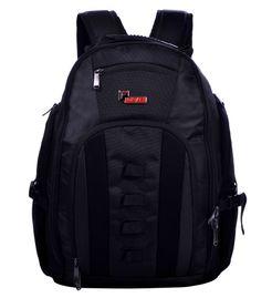 F Gear Mendez 35 Liter Black Laptop Backpack