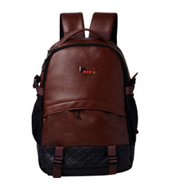 F Gear Sedna 27 Liters Laptop Backpack Sch Bag(Brown)