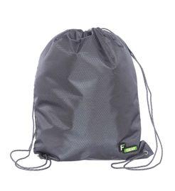 F Gear String V2 8 Ltrs Nylon Grey Gym Bag
