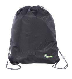 F Gear String V2 8 Ltrs Nylon Black Gym Bag