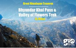 Great Himalayan Traverse Valley Of Flowers & Bhyundyar Khal Pass