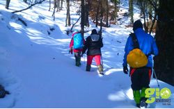Snow  Trek: Dodital & Darwa Pass