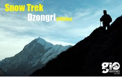 Snow Trek to Dzongri