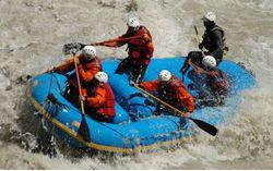 Rafting on Zanskar