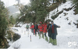 Snow Trek Chopta Chandrashilla Peak with Rafting on Alaknanda  - Youth Adventure