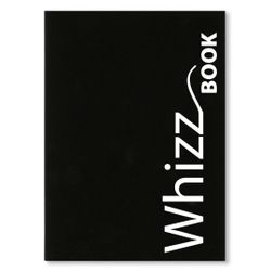 Canson Whizz Book 80 GSM A4 Art Book of 136 Fine Grain Sheets - Black Cover