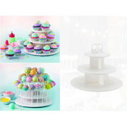 2 in 1 Cake pop and Cupcake Stand