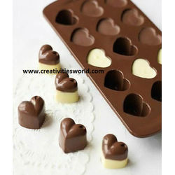 Heart shape chocolate mould
