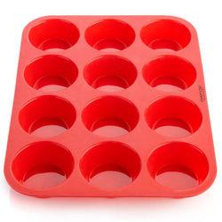 12 Cavity Silicone muffin mould