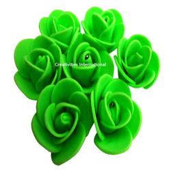 GREEN FOAM FLOWERS(SMALL)