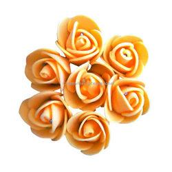ORANGE  FOAM FLOWERS(SMALL)
