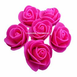 PINK FOAM FLOWERS(MEDIUM)