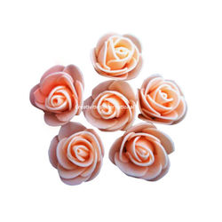 PEACH FOAM FLOWERS(MEDIUM)