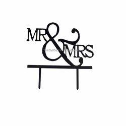 Mr. & Mrs Cake Topper 2