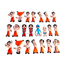Chota Bheem & Friend Shape 3D Mould