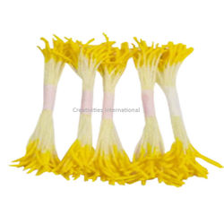 Long Yellow  & White Pollens (Set of 5)